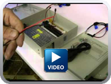 central power supply video image - CCTV Learning Center